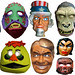 H R Pufnstuf And Other Masks 0843