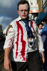 Brighton Zombie Walk 2010 - Doctor (smileham) Tags: halloween walking dead brighton zombie walk doctor horror undead zombies