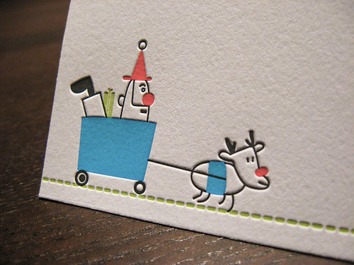 2010 Holiday Cards - Giddy up