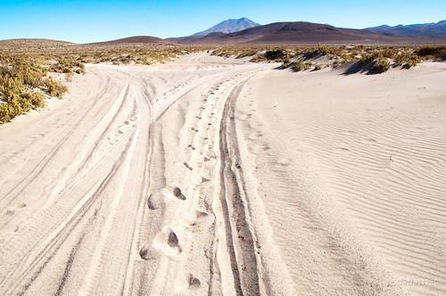 Caminos imposibles de arena