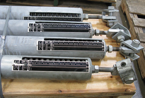 "126"" Long Sway Braces for a Power Plant"