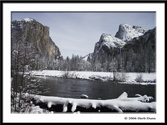 Valley View 06 (Herb Dunn (YosemiteJunkie)) Tags: winter snow nature water landscape oneofakind scenic yosemite beautifulscenery rockswater supershot canonphotography picturingcalifornia mountainsandwater 31landscape herbdunn dunnrightphotography kerncountyphotographers nationalparkphotography thebeautyofcalifornia