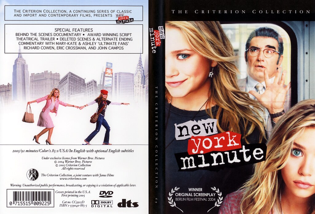 New York Minute (Criterion Collection edition)