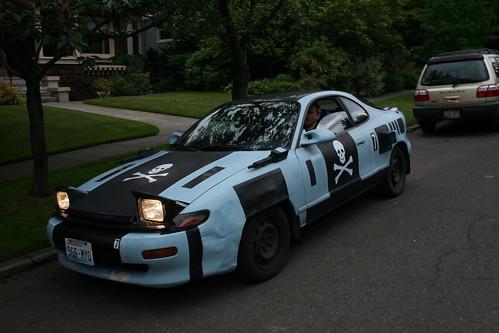 The Mock 7 Art Car by Daniel Johnston - Bellingham, WA.