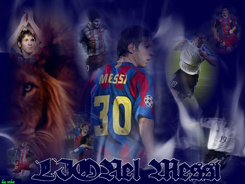 wallpaper messi. FCBarcelona - Messi Wallpaper