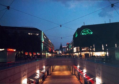 Hanover at night