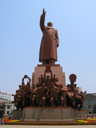 Chairman Mao Statue - Shenyang, China