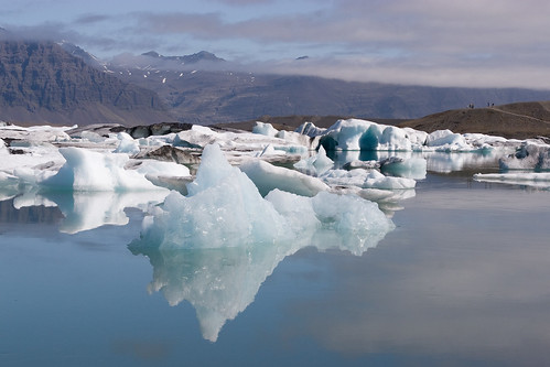 Beautiful Iceberg Reflection