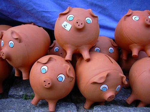Hucha Los tres cerditos / Three Little Pigs
