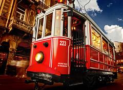 Istiklal Avenue (orgutcayli) Tags: street turkey interestingness tram istanbul explore beyoglu tramvay istiklalcaddesi grandavenue orgutcayli istiklalavenue baykuswasthere türkiye granderuedepéra örgütçaylı
