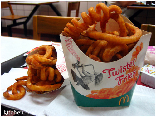 Mc Donald's Twister Fries
