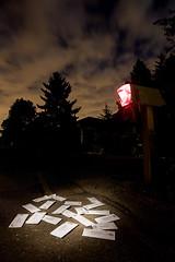 Junk Mail (LukeOlsen) Tags: nightphotography usa lightpainting night oregon mailbox portland nocturnal post mail junkmail nocturne 550ex ste2 strobist lukeolsen pdxstrobist