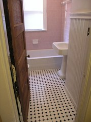 Bathroom done (cluttershop) Tags: bathroom maryland mtrainier bungalow beadboard