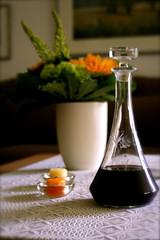 living room (schreiblockade) Tags: table wine livingroom tisch wohnzimmer wein