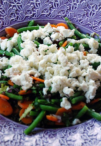 feta puy lentil salad