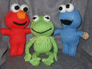 Ravelry: Elmo Peep Amigurumi Knitting Pattern pattern by ...