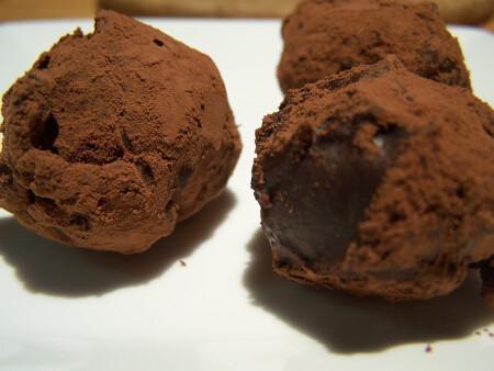 Chocolade truffel