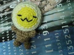 amigurumi  MiluEgg (leianess) Tags: face animal toy miniature diy outfit stuffed knitting handmade crochet egg knit craft icon avatars plushies softie emoticons smiley msn crafty amigurumi boiled crafting  emoticon yolk  smilies emoicon samwoo milu crocheting       emoface hangmade         miluegg