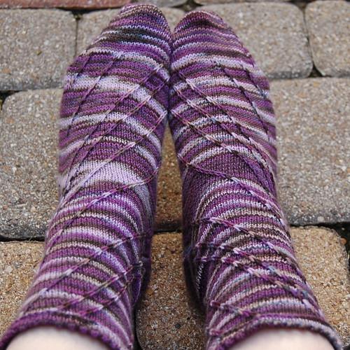 Swirl Sock