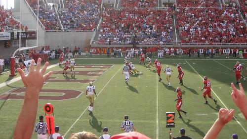 ...Touchdown Darrell Mack!
