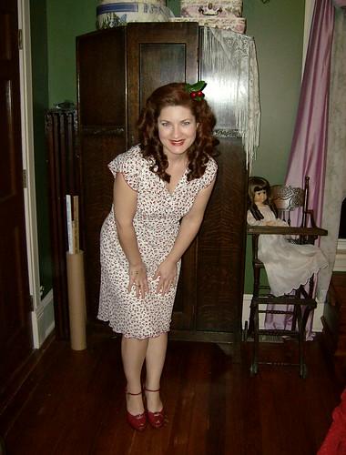 Modern Charlotte Russe cherry print dress
