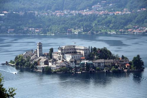 Isola di San Giulio am Lago di Orta