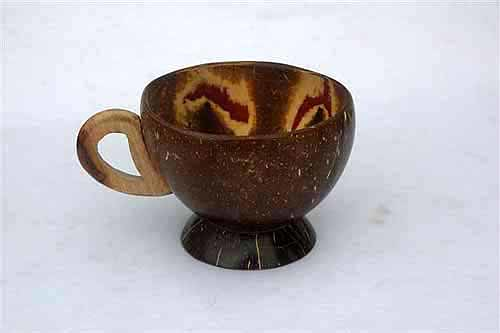Coconut Shell Cup #2, Coconut Handicraft