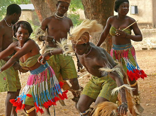 African Tribal Dance, Togo by themanwithsalthair, on Flickr