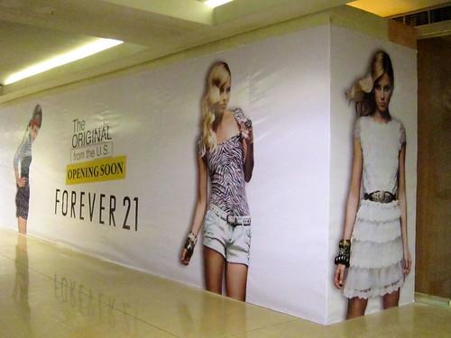 Forever 21, SM Megamall
