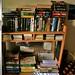 Staff room paperback bookshelf