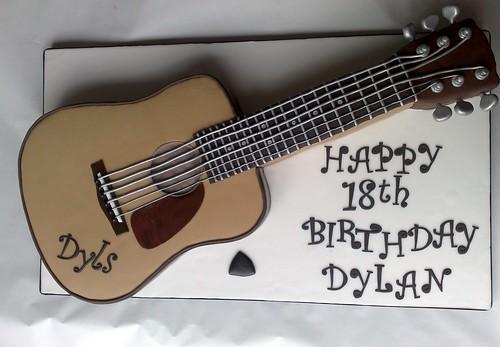 Guitar Cake #1
