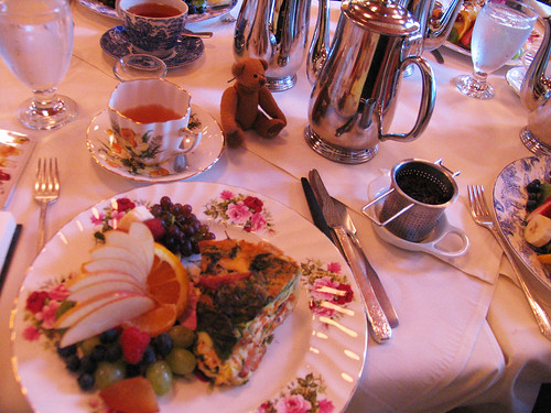 BB at Queen Marys Tearoom