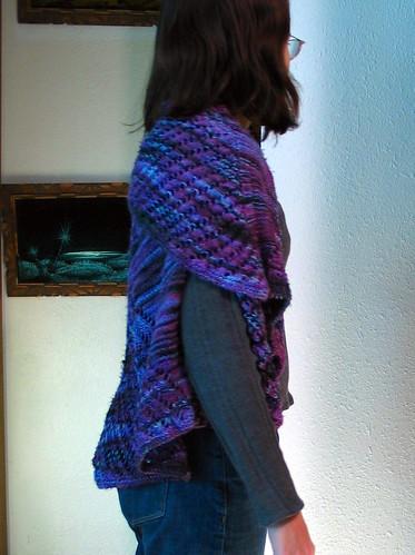 Starfish shawl
