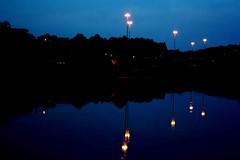 Ests em cima ou embaixo? (Nay Hoffmann) Tags: parque azul lago agua sombra lindo reflexo riograndedosul canela riacho