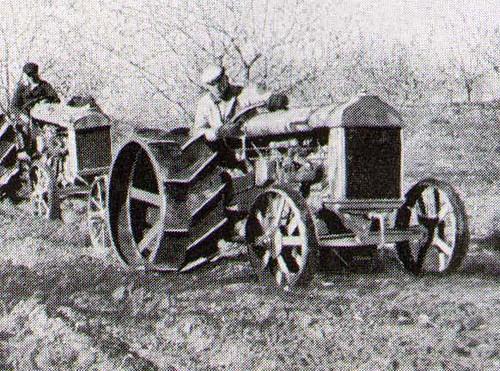 Fordson Tractor Model A Farming Equipment
