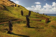 Easter Island HDR (msdstefan) Tags: pictures ocean trip travel vacation sky panorama sculpture sun holiday stone easter landscape island polynesia sand pacific pics urlaub himmel skulptur nikond50 best insel landschaft sonne stein moai rtw isla hdr kste pazifik ozean osterinsel polynesien landschaftsbild platinumheartaward 100commentgroup doublyniceshot mygearandmepremium mygearandmebronze mygearandmesilver mygearandmegold mygearandmeplatinum mygearandmediamond