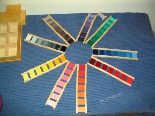 vie sensorielle, les couleurs
