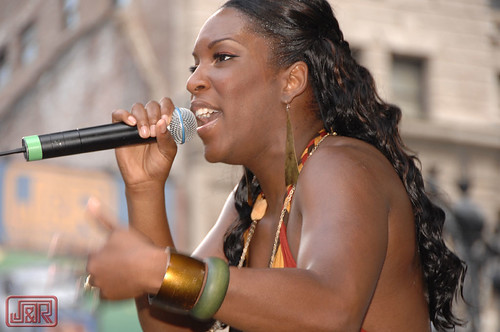 Liv Warfield  @ J&R's Summerfest '07
