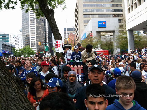 Vancouver Canucks victory party_7