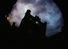 Bannerman Castle gothic silhouette