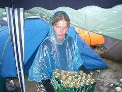Mand med øl - by Johannesen