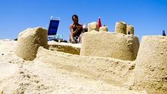 LIttLEpOZ vs TheSaNdCaSTLe (3Rr3) Tags: seaside sand castello spiaggia sabbia prospettiva prospective