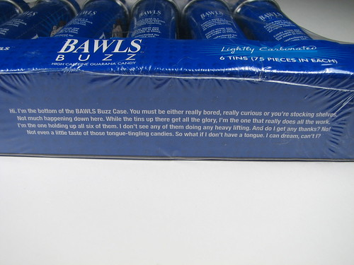 Bawls Buzz copywriting