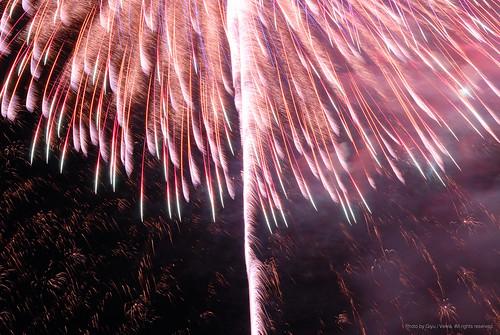 Yunotsu fireworks festival 2007