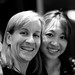 Ellen Levy and Peggy Liu