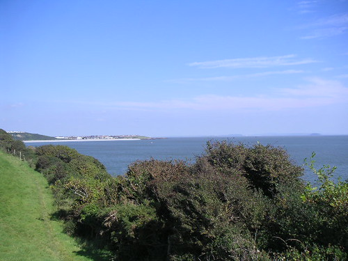 Looking toward Barry