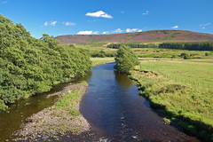 River Coquet at Hepple Bridge