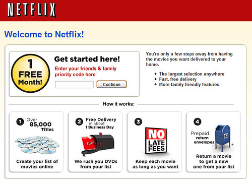 Netflix.com Free 14 Day Trial Offer