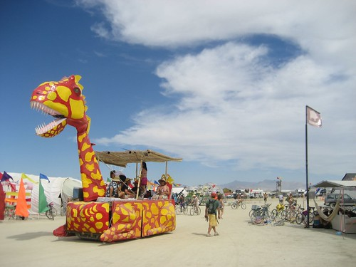 Unga Bunga, Art Car at Burning Man 2007