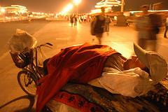 Goodnight (Rafal Bergman) Tags: china street people night sleep beijing mao soe tiananmen